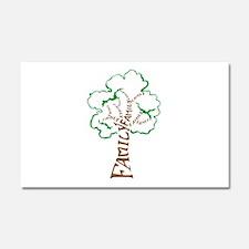 Family Tree Car Magnet 20 x 12