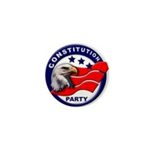 Constitution Party Mini Button (100 pack)