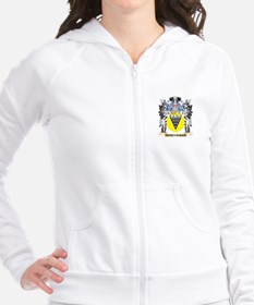 Moneymaker Coat of Arms - Family Crest Fitted Hoodie