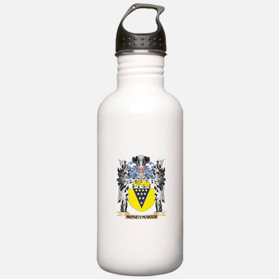 Moneymaker Coat of Arm Water Bottle