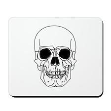 Skull W Mousepad