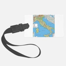 Map of Italy Luggage Tag