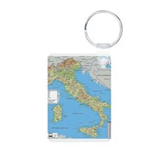 Map of Italy Keychains