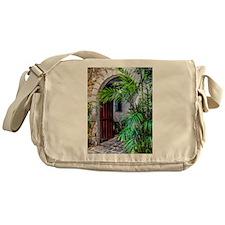 Casa Manila Courtyard Archway Messenger Bag