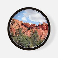 Red Canyon, Utah, USA 7 Wall Clock