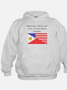 American Pinoy And Cute Hoodie