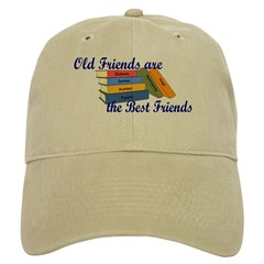 Books Best Friends Baseball Cap