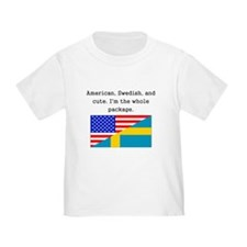 American Swedish And Cute T-Shirt