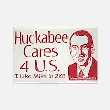 Huckabee Cares 4 US Rectangle Magnet
