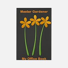 Cute Mom Gardener Flower Rectangle Magnet