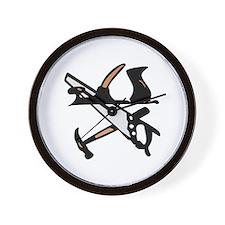 Workshop Tools Wall Clock