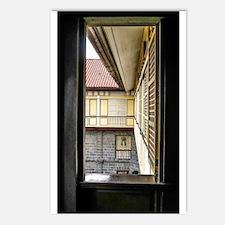 Casa Manila Courtyard Window Postcards (Package of