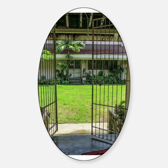 Gated Courtyard Decal