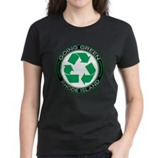 Going Green Rhode Island (Recycle) Tee