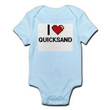 I Love Quicksand Digital Design Body Suit