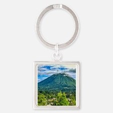 Mount Lokon Volcano Keychains