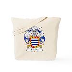 Elcano Family Crest Tote Bag
