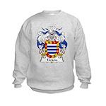 Elcano Family Crest Kids Sweatshirt