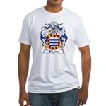Elcano Family Crest Fitted T-Shirt