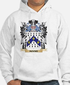 Moore Coat of Arms - Family Cres Hoodie