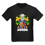 Eizaguirre Family Crest Kids Dark T-Shirt