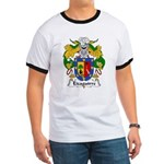 Eizaguirre Family Crest Ringer T