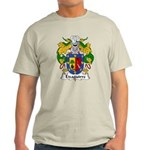 Eizaguirre Family Crest Light T-Shirt