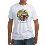 Eizaguirre Family Crest Fitted T-Shirt