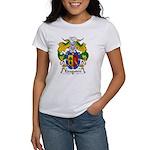 Eizaguirre Family Crest Women's T-Shirt