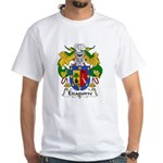 Eizaguirre Family Crest White T-Shirt