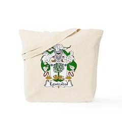 Eguizabal Family Crest Tote Bag