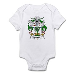 Eguizabal Family Crest Infant Bodysuit