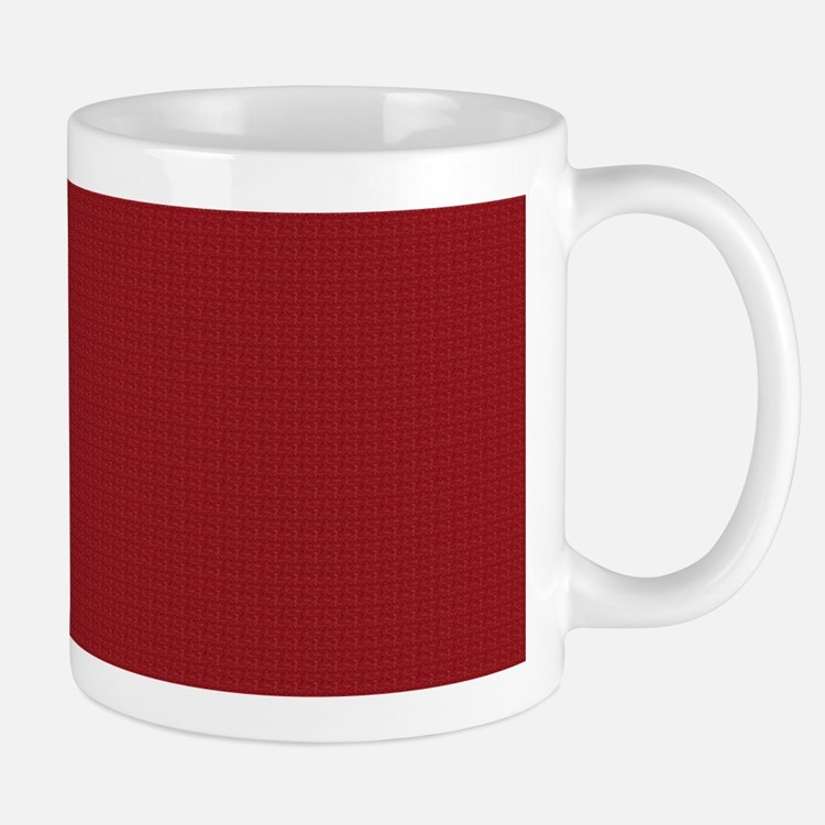 Solid Maroon Mugs