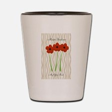 Cute Mom Gardener Flower Shot Glass