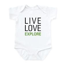 Live Love Explore Infant Bodysuit