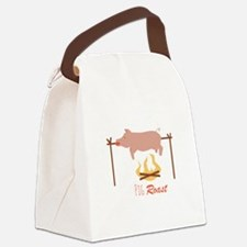 Pig Roast Canvas Lunch Bag