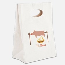 Pig Roast Canvas Lunch Tote