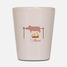 Pig Roast Shot Glass