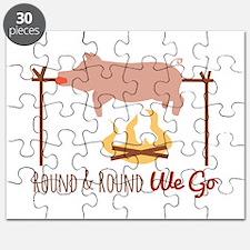 Round We Go Puzzle