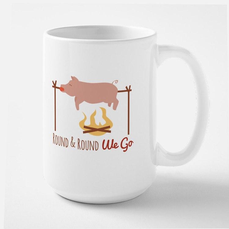 Round We Go Mugs