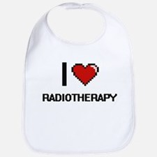 I Love Radiotherapy Digital Design Bib