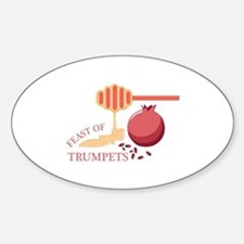Feast Of Trumpets Decal