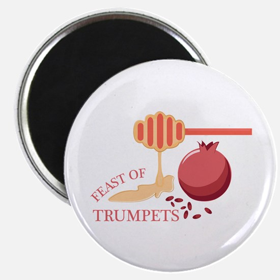 Feast Of Trumpets Magnets