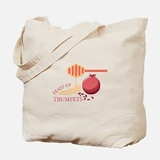 Feast Of Trumpets Tote Bag
