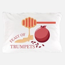 Feast Of Trumpets Pillow Case