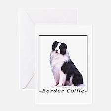 Border Collie--1 Greeting Card