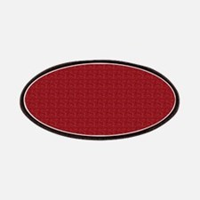 Solid Maroon Patch