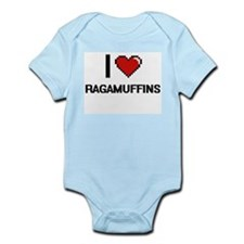I Love Ragamuffins Digital Design Body Suit