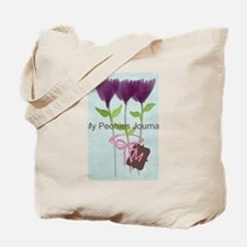 Cute Mom Gardener Flower Tote Bag