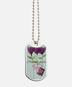 Cute Mom Gardener Flower Dog Tags